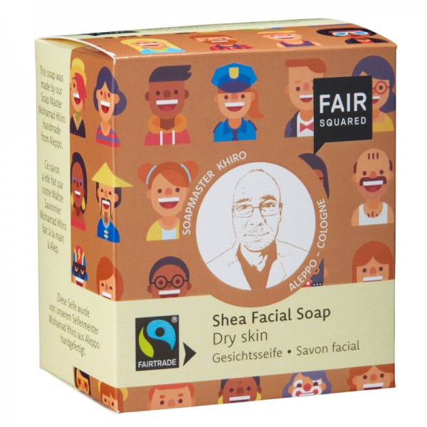 FAIR SQUARED Facial Soap Shea - Dry Skin