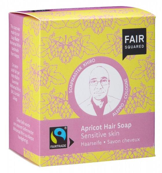 FAIR SQUARED Hair Soap Apricot - Sensitive Skin