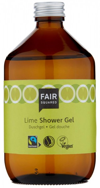 FAIR SQUARED Shower Gel Lime