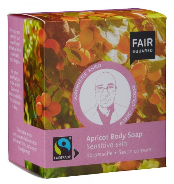 FAIR SQUARED Body Soap Apricot - Sensitive Skin