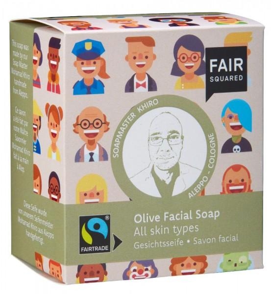 FAIR SQUARED Facial Soap Olive - Normal Skin