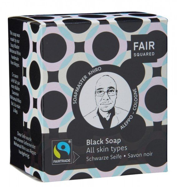 FAIR SQUARED Facial Black Soap - All Skin Types