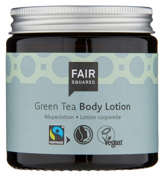 FAIR SQUARED Body Lotion Green Tea 100 ml ZERO WASTE