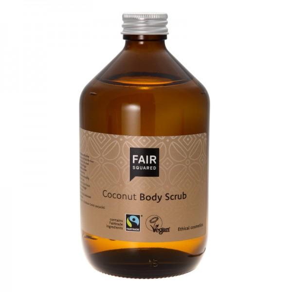 FAIR SQUARED Body Scrub Coconut 500 ml ZERO WASTE