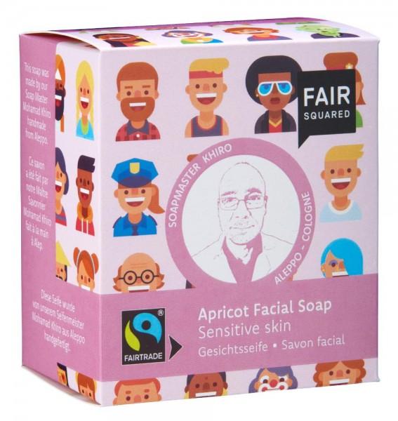FAIR SQUARED Facial Soap Apricot - Sensitive Skin