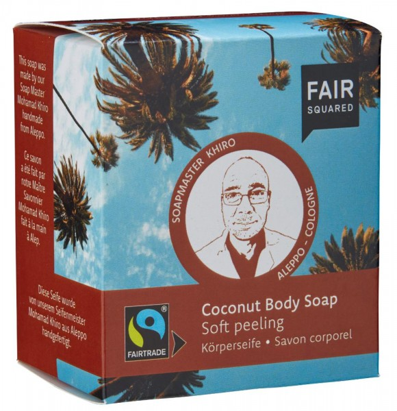 FAIR SQUARED Body Soap Peeling Coconut
