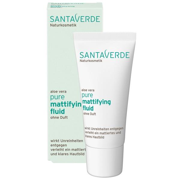 Santaverde pure mattifying fluid ohne Duft